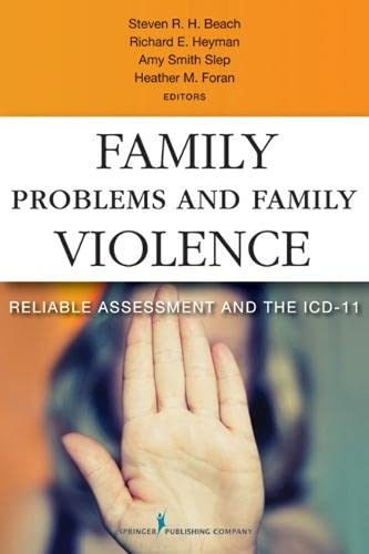 9780826109101: Family Problems and Family Violence: Reliable Assessment and the ICD-11