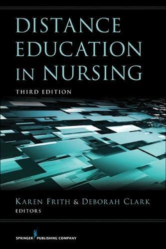 9780826109453: Distance Education in Nursing: Third Edition (Springer Series: Teaching of Nursing)