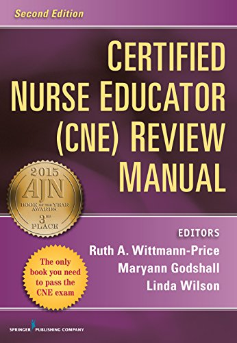 9780826110060: Certified Nurse Educator (CNE) Review Manual, Second Edition