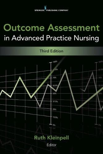 9780826110473: Outcome Assessment in Advanced Practice Nursing: Third Edition