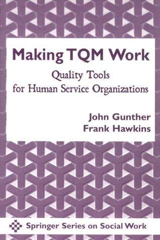 Making TQM Work: Quality Tools for Human: Gunther, John Joseph,
