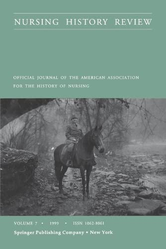 9780826112415: 8: Nursing History Review, Volume 7, 1999: Official Publication of the American Association for the History of Nursing