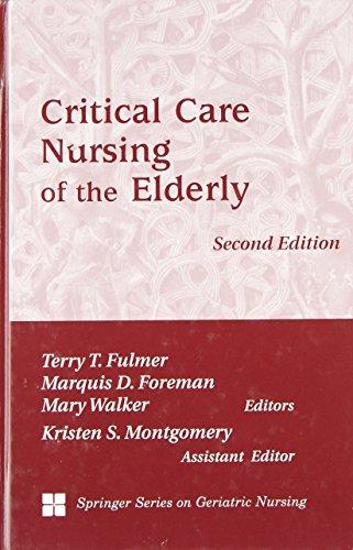 9780826114099: Critical Care Nursing of the Elderly