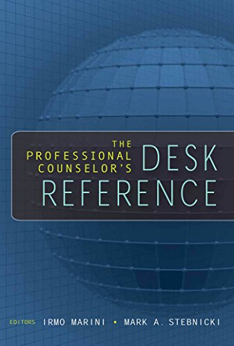9780826115478: The Professional Counselor's Desk Reference