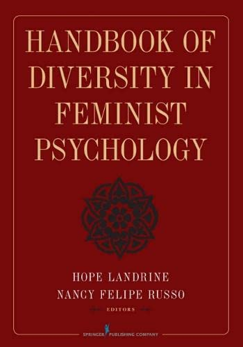 9780826117052: Handbook of Diversity in Feminist Psychology