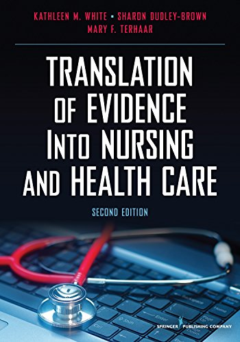 9780826117847: Translation of Evidence into Nursing and Health Care, Second Edition
