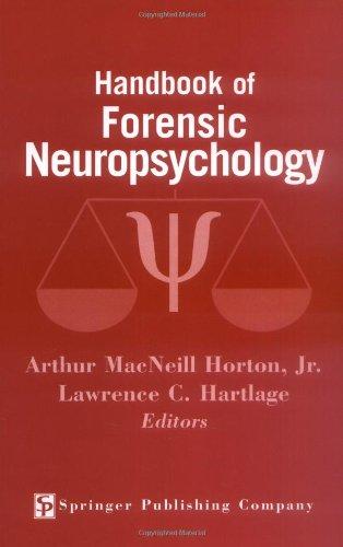 9780826118844: Handbook of Forensic Neuropsychology