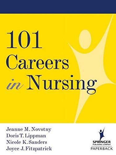 9780826120144: 101 Careers in Nursing