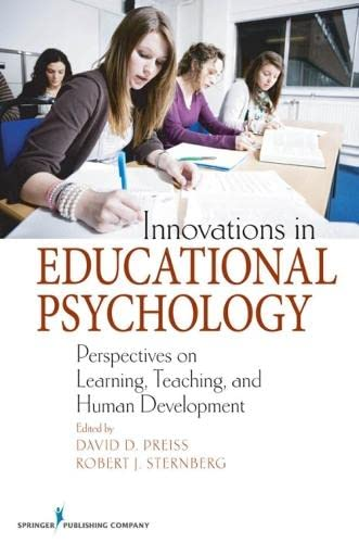 9780826121622: Innovations in Educational Psychology: Perspectives on Learning, Teaching, and Human Development