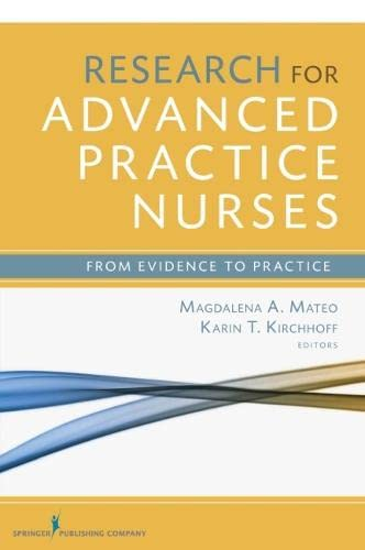9780826122070: Research for Advanced Practice Nurses: From Evidence to Practice