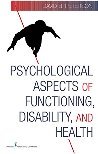9780826123442: Psychological Aspects of Functioning, Disability, and Health