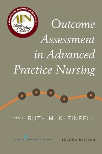 9780826125828: Outcome Assessment in Advanced Practice Nursing