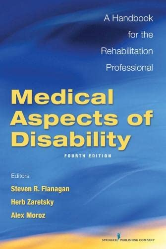 9780826127839: Medical Aspects of Disability: A Handbook for the Rehabilitation Professional