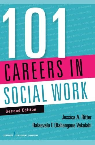 9780826129055: 101 Careers in Social Work, Second Edition