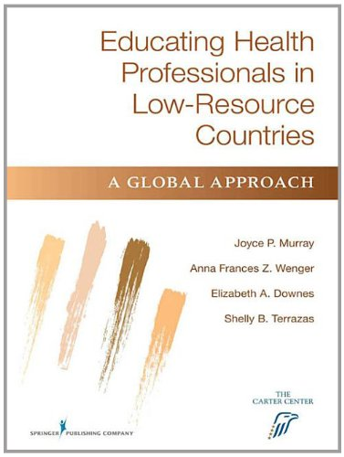 9780826132581: Educating Health Professionals in Developing Countries: Interdisciplinary Approach