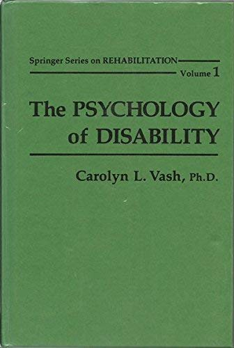 9780826133403: The Psychology of Disability (Springer Series on Medical Education)