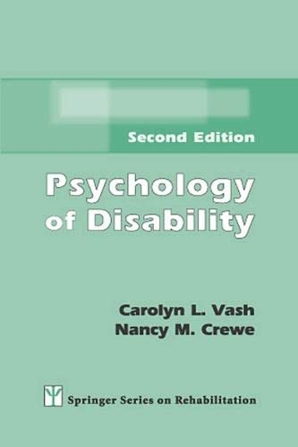 9780826133427: Psychology of Disability: Second Edition (Springer Series on Rehabilitation)