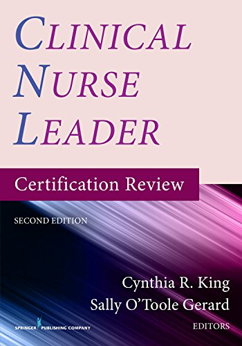 9780826137623: Clinical Nurse Leader Certification Review, Second Edition