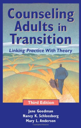 9780826137845: Counseling Adults in Transition: Linking Practice With Theory