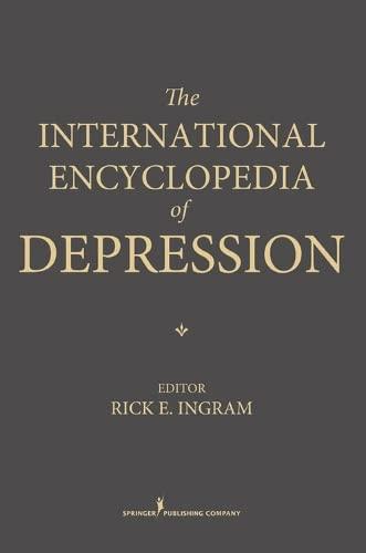 9780826137937: The International Encyclopedia of Depression