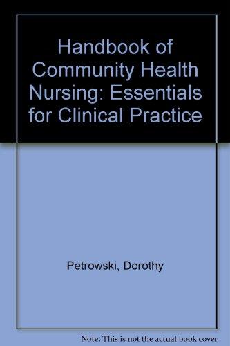 Handbook of Community Health Nursing: Essentials for