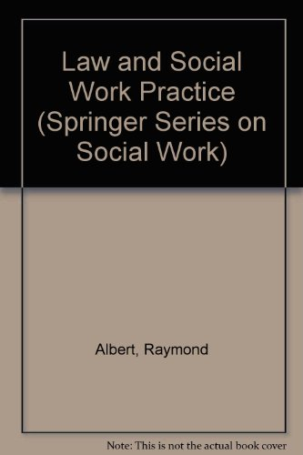 9780826148902: Law and Social Work Practice (Springer Series on Social Work)
