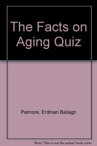 9780826157720: The Facts on Aging Quiz