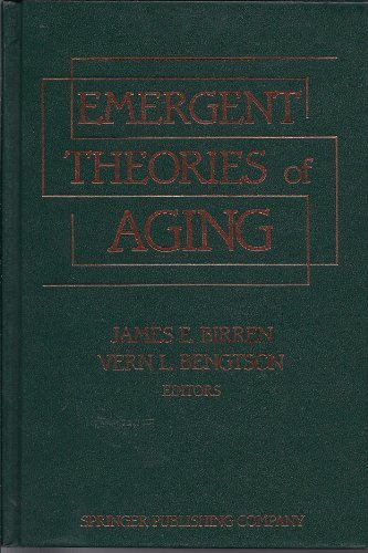 9780826162502: Emergent Theories of Aging