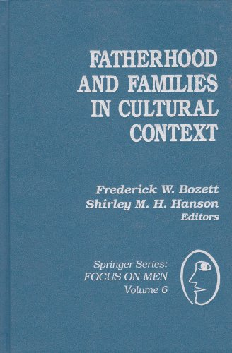 9780826165701: Fatherhood and Families in Cultural Context (SPRINGER SERIES: FOCUS ON MEN)