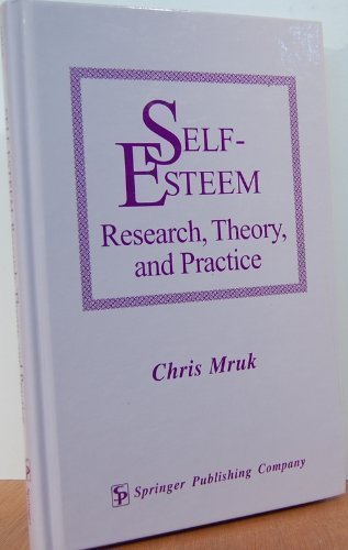 9780826187505: Self-Esteem: Research, Theory, and Practice