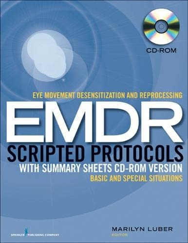 9780826193414: Eye Movement Desensitization and Reprocessing (EMDR) Scripted Protocols with Summary Sheets CD-ROM Version: Basics and Special Situations