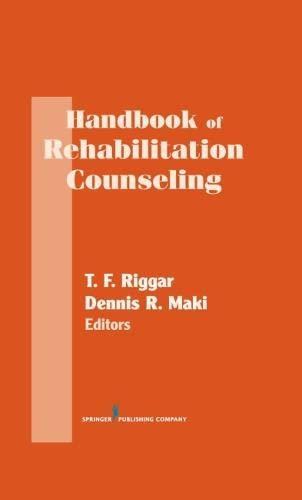 9780826195128: Handbook of Rehabilitation Counseling (SPRINGER SERIES ON REHABILITATION)