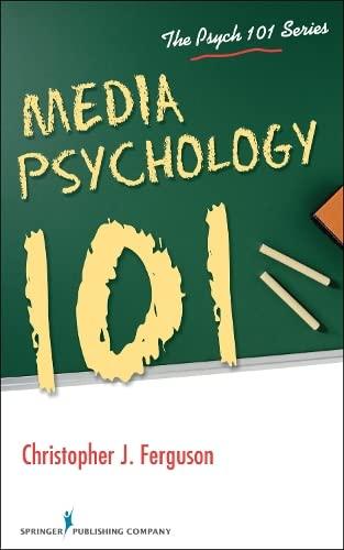9780826196736: Media Psychology 101 (Psych 101)