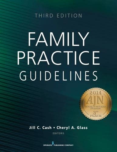 9780826197825: Family Practice Guidelines, Third Edition