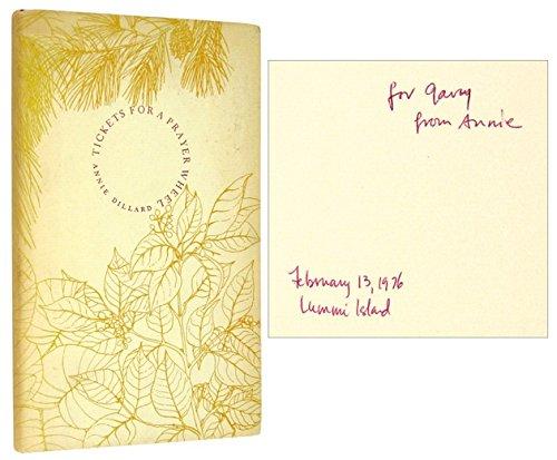 Tickets For A Prayer Wheel: Poems.: Dillard, Annie.