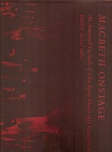 9780826202123: Macbeth Onstage: An Annotated Facsimile Of Glen Byam Shaw's 1955 Promptbook