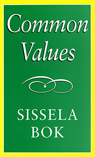 9780826214256: Common Values (The Paul Anthony Brick Lectures)