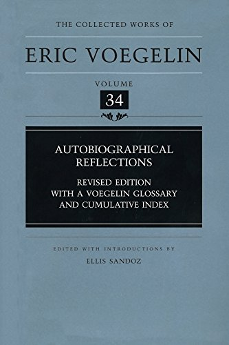 9780826215895: Autobiographical Reflections