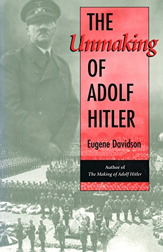 9780826260307: The Unmaking of Adolf Hitler