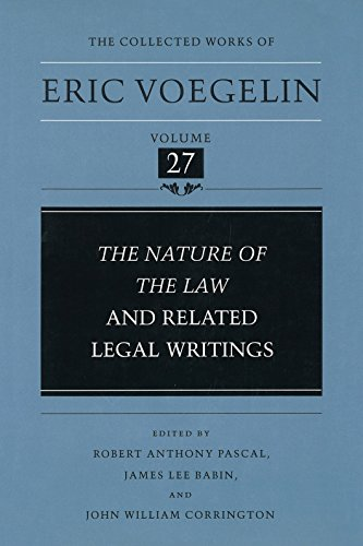 9780826261946: Nature of the Law and Related Legal Writings