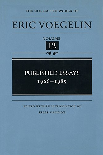 9780826262004: Published Essays, 1966-1985 (CW12) (COLLECTED WORKS ERIC VOEGELIN)