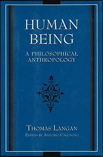 9780826271938: Human Being: A Philosophical Anthropology