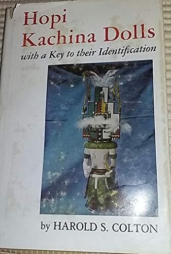 9780826300218: Hopi Kachina Dolls, with a Key to Their Identification.