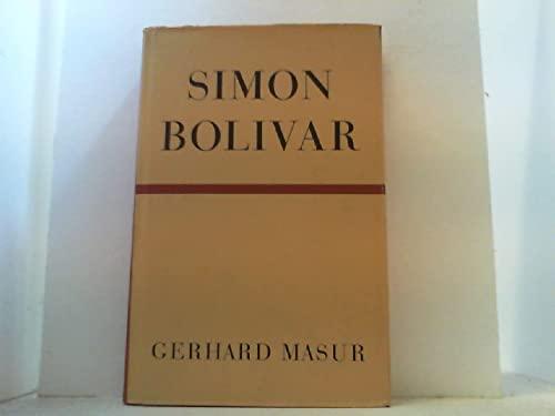 9780826301314: Simon Bolivar