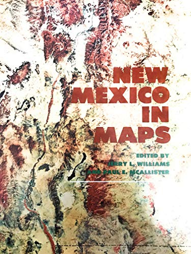 9780826306012: New Mexico in maps
