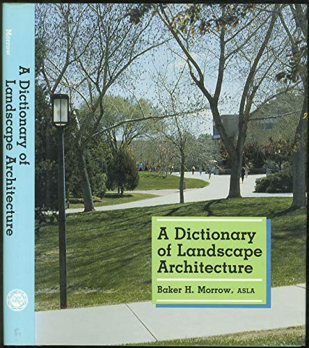 9780826309433: A Dictionary of Landscape Architecture
