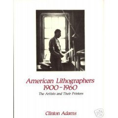 American Lithographers, 1900-1960. The Artists and Their Printers.
