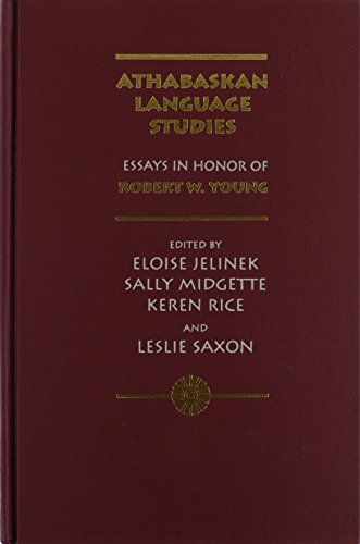 9780826317056: Athabaskan Language Studies: Essays in Honor of Robert W. Young