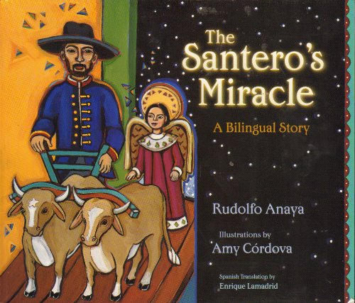 9780826328489: The Santero's Miracle; A Bilingual Story