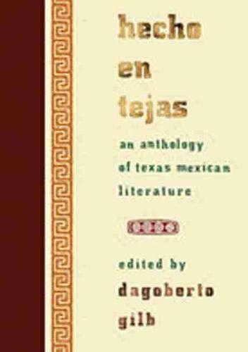 Hecho En Tejas: Gilb, Dagoberto, Ed.